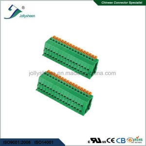 PCB 5A Spring Terminal Blocks pH2.54mm pictures & photos