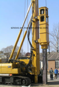 Electro-Hydraulic SF608 SF708 SF808 Track Piling Rig pictures & photos