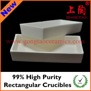 99% High Purity Rectangular Crucibles pictures & photos