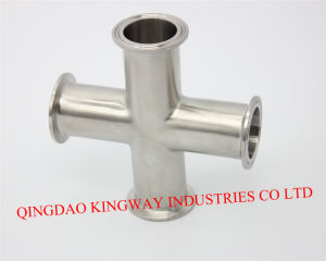 Stainless Steel Sanitary DIN Clamp Cross pictures & photos