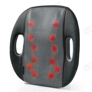 Electric Back Shiatsu Car and Home Seat Massage Cushion pictures & photos