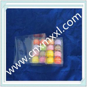 Macaron Custom Plastic Box with The Lip