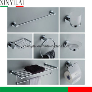 Cheap Chromed Brass Bathroom Accessories Set for Bathroom Building pictures & photos