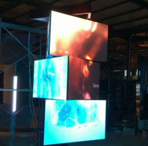 3D Rotating Indoor SMD LED Display Screen Panels