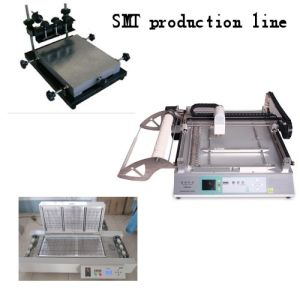Manual Stencil Printer for SMD Production Line pictures & photos