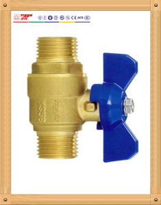 Standard Mm Brass Ball Valve with Butterfly Handle