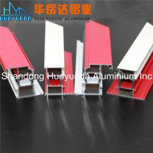 Customized Color Powder Coated Aluminium Extrusion Profiles pictures & photos