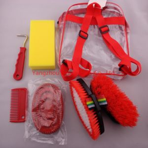 Hot Sale Horse Grooming Kit Backpack 7 Pieces (PY-002)
