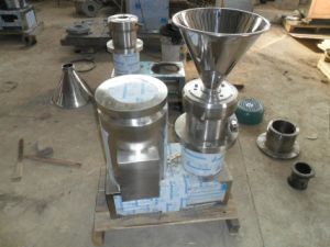 Food Sanitary Stainless Steel Small Colloid Mill pictures & photos
