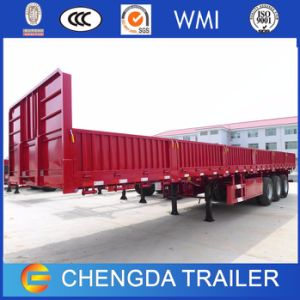 2017 New 3Axle 40FT Container Cargo Semi Trailer for Sale pictures & photos