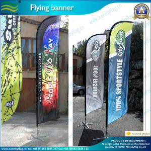 Quality Flying Feather Teardrop Beach Banner Flag (A-NF04F06033) pictures & photos