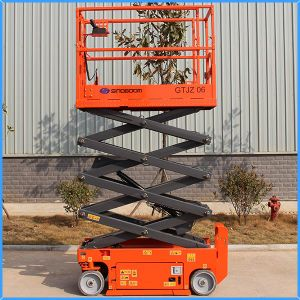 Self-Propelled Aluminum Hydraulic Scissor Lift