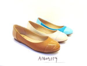 Lady Flat Ballerina Dress Shoe (0A1405119)