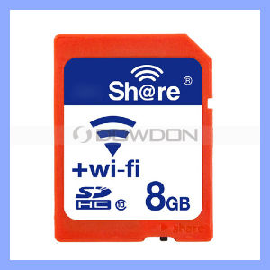 Universal Micro SD Card Flash Card 8GB Support 10-25m Working Distance WiFi SD Memory Card Micro SD Card pictures & photos