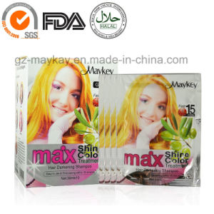 Max Hair Darkening Shampoo-Gloden pictures & photos
