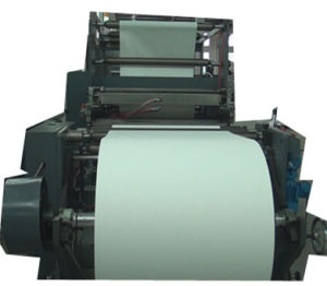 Full Automatic High Speed Flexo Printing and Saddle Stitch Production Line for Exercise Book pictures & photos