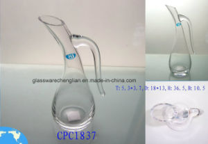 Hand-Made Clear Crystal Glass Tumbler Decanter (CPC1837) pictures & photos