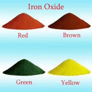 Iron Oxide Brown Pigment for Paint pictures & photos