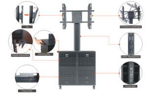 """Video Conference Stand 30-60"""" Landscape & Portrait Cabinet Lockable (VRS 1000A) pictures & photos"""