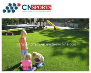 Factory Direct Supply Cheap Garden Artificial Turf, Synthetic Fake Grass pictures & photos