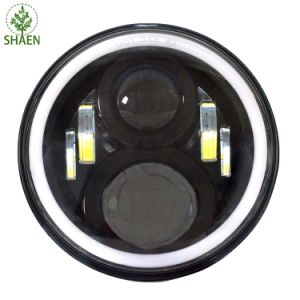 Hot Sale Waterproof 7′′ Round LED Light for Jeep pictures & photos