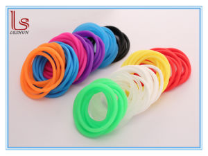Factory Direct Fast Delivery 4mm Silicone Sport Wristbands Bracelets Bands pictures & photos