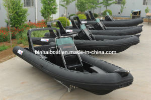 25ft, 7.6m 16person Rigid Inflatable Boat Rib730b
