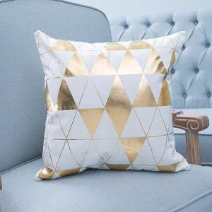 Foil/Gold&Silver Print Decorative Cushion/Pillow (MX-31A/B/C/D/E/F) pictures & photos