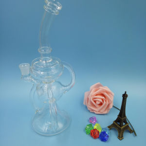 New Glass Smoking Water Pipe Recycler pictures & photos