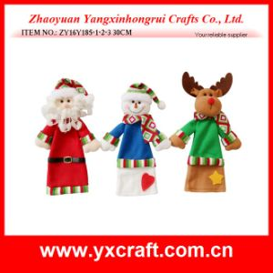 Christmas Decoration (ZY16Y185-1-2-3 30CM) Christmas Wine Bottle Cover pictures & photos