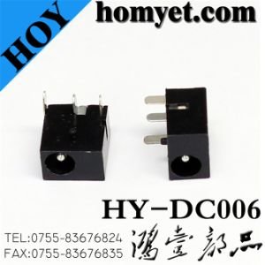 6pin DIP Type DC Power Jack (HY-DC006) pictures & photos