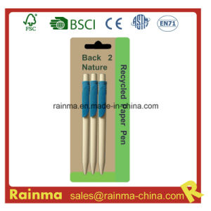 Eco Corn Ball Pen for School Stationery pictures & photos