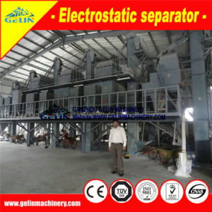 Electrostatic Separator Zircon Mining Processing Machine for Heavy Mineral Sand in Indonesia pictures & photos