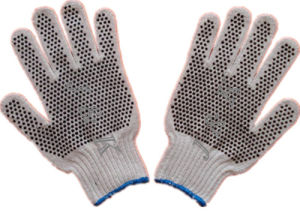 PVC Dots Gloves Work Glovessafety Gloves pictures & photos