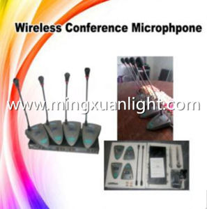 Professional GS4004 4channels UHF Wireless Conference Room Microphone pictures & photos