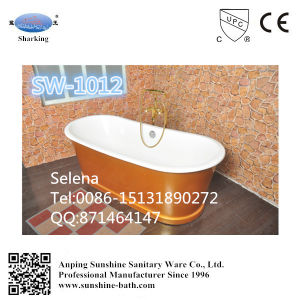 Hot Sales Freestanding AA Enamel Cast Iron Bathtub Sw-1012
