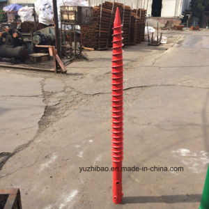 Galvanizing Helix Ground Screw Pile/ Screw Pile pictures & photos