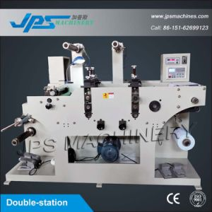 Sticker Label Die Cutter Machine with Slitting Function pictures & photos