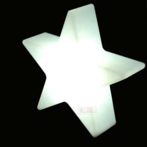 Glowing Christmas Star Color Changing LED Lamp for Christmas pictures & photos