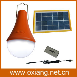 Built-in 2.2ah3.7V Battery 3W Solar Light Lamp pictures & photos