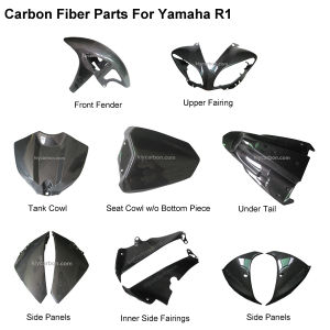 Carbon Fiber Motorcycle Parts for YAMAHA R1 pictures & photos