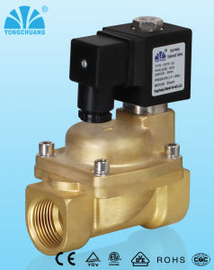 Piston Pilot Operated Normally Closed Steam Solenoid Valve
