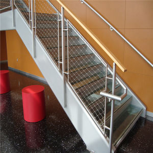 Stainless Steel Rope Mesh for Balustrade Mesh/Stainless Steel Wire Rope Netting/Mesh pictures & photos