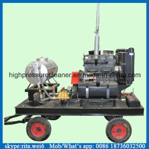 500bar Ship Hull Paint Cleaning Machine High Pressure Cleaning Machine pictures & photos