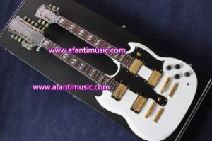 Afanti Music/ Double Neck Style Electric Guitar (ASG-2209) pictures & photos