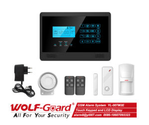 GSM Alarm  with LCD Display and Touch Keypad pictures & photos