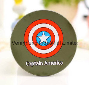 Rubber Cup Coasters Soft PVC Drink Coaster for Promotional Gift pictures & photos