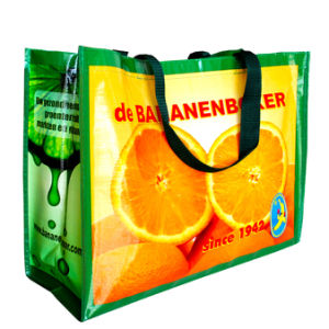 Promotional Shopping Recycling Laminated PP Woven Bag pictures & photos