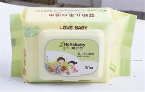 80 PCS High Quality Baby Wet Wipes for Hand and Mouth pictures & photos