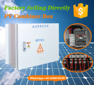 4 Input Channel PV Array Combiner Box for Controller System pictures & photos